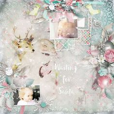Do you believe in the Magic of Christmas ? I do believe in it.  May all the sweet magic of Christmas conspire to gladden your hearts and fill every desire. This collection is created with soft and tender colors and has a slightly vintage look. It's versatile enough to be used as a Christmas kit, or as a winter one. It's totally up to you ! Play along with elements and overlays and give unique looks to your digital scrapbooking projects ! Also using Arty Inspiration #10 by HSA