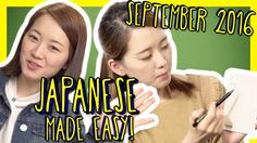 Learn Japanese Made Easy - Best of September 2016 With Risa via LearnJapaneseWithJapanesePod101.com on Youtube