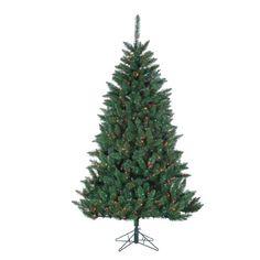 7 PreLit Fairmont Pine Artificial Christmas Tree  Multi Lights *** Visit the image link more details.