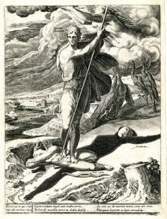 The Triumph of Truth Plate 5: The Man who kills Lust and Falsehood crowned with laurel.   http://41.media.tumblr.com/99b95085068a76b60cbce0f9ac08505d/tumblr_nxzdia09wC1qzix81o1_500.jpg