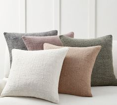 Find throw and accent pillows from Pottery Barn to easily update your space. Shop our pillow collection to find decorative pillows in classic styles, prints and colors. Pottery Barn Pillows, Linen Pillows, Linen Bedding, Throw Pillows, Bed Linens, Bedding Sets, Lumbar Pillow, Accent Pillows, Sofa Cushions