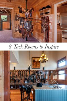 8 Awesome tack rooms that will give you major barn envy.