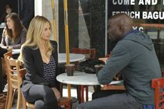 Still of Sarah Michelle Gellar and Mike Colter in Ringer