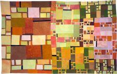 Modern Art Quilts   ... in Abstract Contemporary Textile Art   Barbara Harms Fiber Art