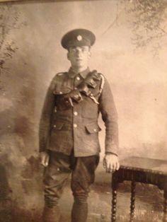 My grandfather Christopher (kit) Philliskirk 1915