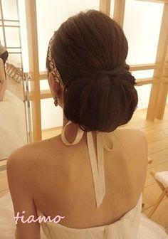 美人花嫁さまの素敵な3スタイル♡前編♡ |大人可愛いブライダルヘアメイク『tiamo』の結婚カタログ