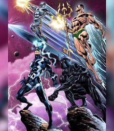 This Squad is OP!  Surfer Namor Black Bolt & Black Panther by Claudio Castellini  Download images at nomoremutants-com.tumblr.com  #marvelcomics #Comics #marvel #comicbooks #avengers #captainamericacivilwar #xmen #Spidermanhomecoming  #captainamerica #ironman #thor #hulk #ironfist #spiderman #inhumans #civilwar #lukecage #infinitygauntlet #Logan #X23 #guardiansofthegalaxy #deadpool #wolverine #drstrange #infinitywar #thanos #gotg #RocketRaccoon #venom #nomoreinhumans http://ift.tt/2gpaGVh