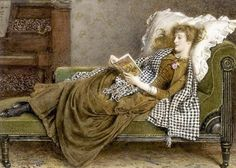 British Paintings: A Young Lady Reading in an Interior - George Goodwin Kilburne. goldenagepaintings.blogspot.com699 × 499Buscar por imagen A Young Lady Reading in an Interior - George Goodwin Kilburne. Buscar con Google
