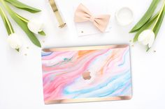 A personal favorite from my Etsy shop https://www.etsy.com/listing/264824885/platinum-edition-pastel-marble-swirl