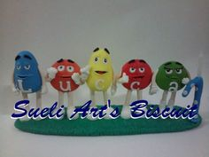 M&m's biscuit
