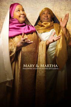 Mary & Martha by International Photographer James C. Lewis    ORDER PRINTS NOW: http://fineartamerica.com/profiles/2-cornelius-lewis.html