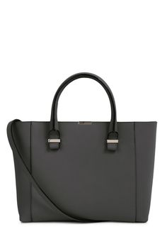 Victoria Beckham black grained leather tote  http://www.harveynichols.com/87384-quincy-black-leather-tote/