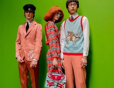 @gucci  S/S 2017 @backstageat More on @voguemagazine: http://bkstge.at/GucciMenSS17