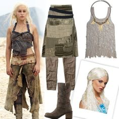 Daenerys Targaryen from Game of Thrones for you @Courtney H