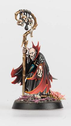 Graham Shirley is an awesome Warhammer painter, and we thought his Death army was worth showing off here on Warhammer …