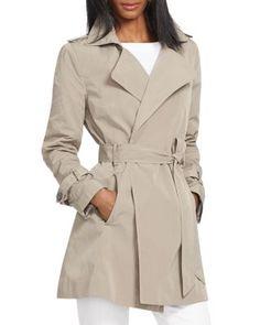 Lauren Ralph Lauren Wrap Trench Coat | Bloomingdale's