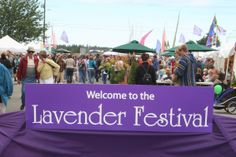 Lavendar Festival July 19-21, 2013 Sequim, Washington on the Olympic Peninsula