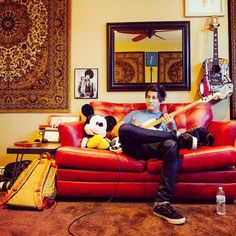 Jaime Preciado, the perfect adorable bass guitarist in Pierce the Veil. I'm not obsessed...