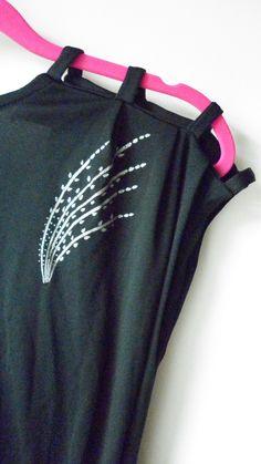 80ies shoulder dress  mesfringues.blogspot.com