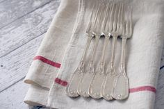 120 year old Antique French Silver Forks #silver #french #antique