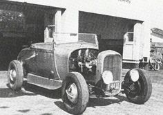 Old School Roadster Classic Hot Rod, Classic Cars, Old Hot Rods, Car Man Cave, Traditional Hot Rod, Street Rods, Ford Models, Drag Racing, Custom Cars