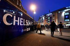 Chelsea Stadium, Chelsea Football, Chelsea Fc, Chelsea Champions, Stamford Bridge, Fulham, Blue Bloods, Entrance, Club