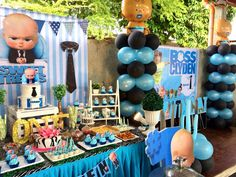 Baby Birthday Themes Boss Boy 1st Party For Boys