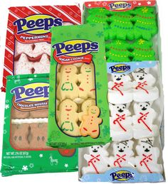 Christmas Marshmallow Peeps. Choose from peep christmas trees