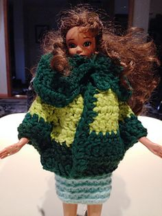 Today I would like to present to you an opportunity to bond with your daughters and granddaughters again by crocheting and knitting for their dolls. You can let them to come up with a design or use one of mine. Modify it to your liking. But the most important thing it will provide you with an opportunity to spend quality time with your kids.