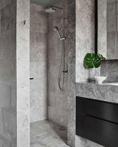 The bathroom is an essential part of the house, where it is good to take care of yourself and relax to fill with serenity. Discover our instructions for a Zen bathroom with our 8 decorating ideas: you have beautiful hours… Continue Reading → Restroom Design, Bathroom Interior Design, Modern Interior Design, Interior Styling, Modern Interiors, Contemporary Design, Bad Inspiration, Bathroom Inspiration, Bathroom Inspo