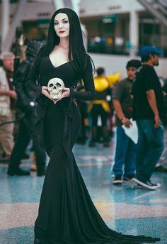 Morticia Addams Cosplay by Ashlynne Dae