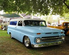 Vintage + Chevy + Truck