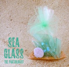 Sea glass candy - party favor idea by @The Partiologist