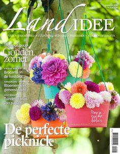 Cover LandIdee #augustus #september #LandIdee #magazime #wonen