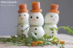 Kerstontbijt sneeuwmannetjes