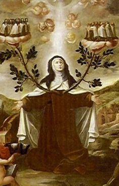 """""""En llegando a tener con perfección este verdadero amor de Dios, trae consigo todos los bienes."""" Sta. Teresa, V. 11-1"""