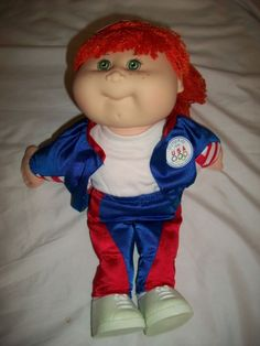 Cabbage Patch Kids - staple doll of the 80s!