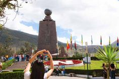 Mitad del Mundo Tour in Double Decker Bus Ride on a double decker bus to see some of the main highlights in Quito on this 7-hour tour. See the lookout point of the Pululahua Crater and explore the the Intiñan Museum with a bilingual guide. Also, enjoy a special trip to the Middle of the World with VIP access to all its attractions.Visit the Equator Mitad del Mundo (Middle of the World) aboard the only double-Decker bus in Quito. The tour visits the lookout point of the Pululah...