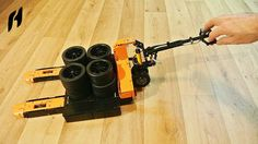 How to Build the Pallet Jack (Lego Technic MOC)