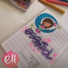 School, Disney, School Notebooks, Sketchbook Cover, Decorated Notebooks, Sketchbooks, Cute Notebooks, Disney Art