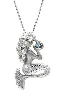 Sterling Silver and Blue Topaz Mermaid Necklace Pendant w... https://www.amazon.com/dp/B013TQ6X98/ref=cm_sw_r_pi_dp_x_yxJezbXMGXET8