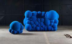 Le designer Belge Maarten De Ceulaer a baptisé son dernier projet « Mutation Series ». Le travail du designer sur ce projet s'oriente autour d'un rembourrage alternatif donnant aux pièces un aspect organique comme si les meubles étaient issus d'une mutation génétique.