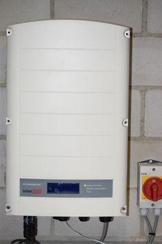 Einphasiger Solaredge Wechselrichter angeschlossen