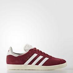 cheap for discount dd118 415bd Baskets femme Adidas Gazelle rouges