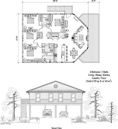 Floor Plans Contemporary Homes And Hexagons On Pinterest