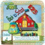 School house paper piecing set
