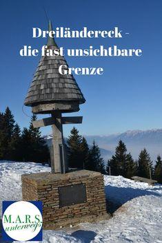 Dreiländereck - die fast unsichtbare Grenze zwischen Österreich, Italien und Slowenien Blog, Romanesque, Slovenia, Italy, Blogging