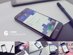 50 Free Iphone 6 Mockups to Present your Design - Smashfreakz