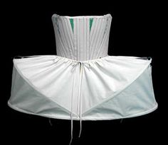 Simple pannier (side hoop) under-skirt - stepsisters getting ready for ball