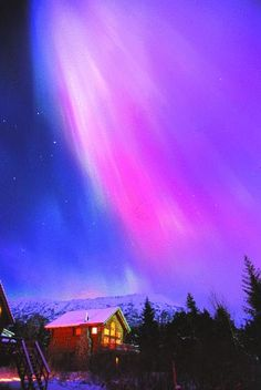 Aurora Borealis Northern Lights from Alaska